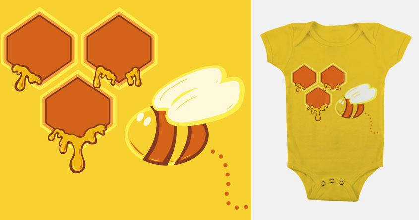 My Little Honey Bee by jellyswirl on Threadless