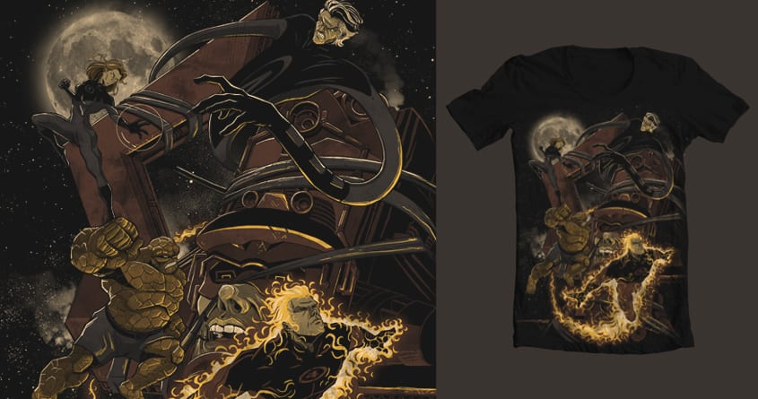 last attack by ronin84 on Threadless