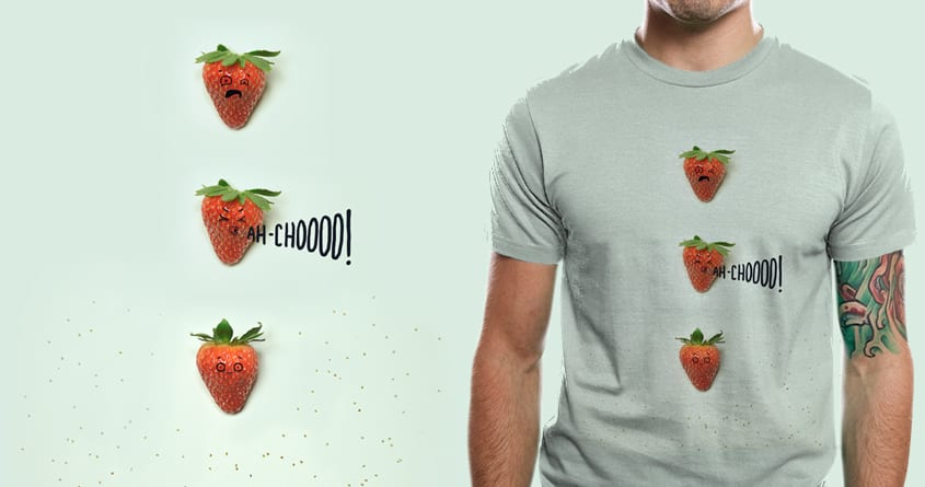Strawberry Sneeze by murraymullet on Threadless