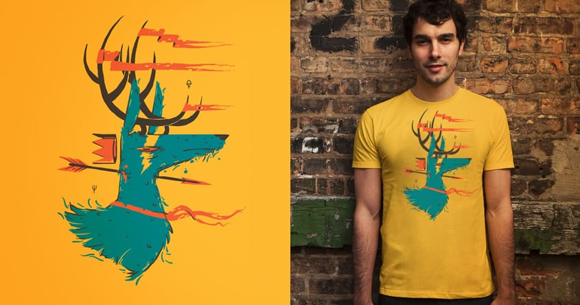Actaeon by fightstacy on Threadless