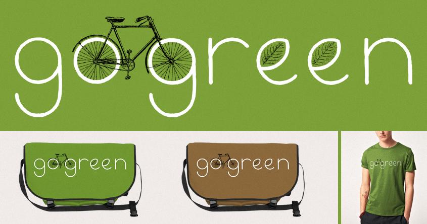 Go Green by speakerine on Threadless