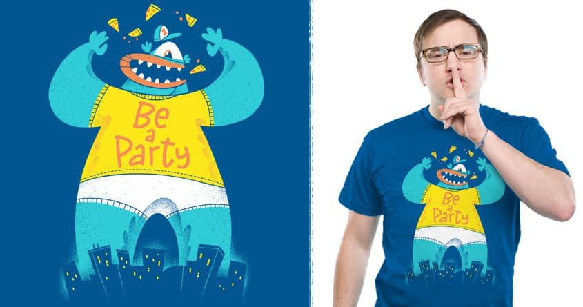 One Man Party by Morkki on Threadless