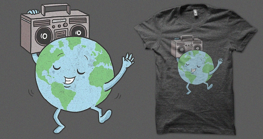 Global Groove by jeffreyg on Threadless