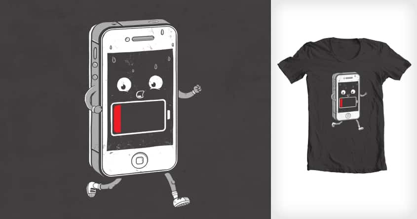 Running out of battery by 3rick05 on Threadless
