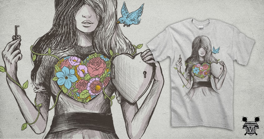 Secret Garden by alexmdc on Threadless