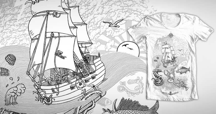 A sailor's epic tale! by c-royal on Threadless