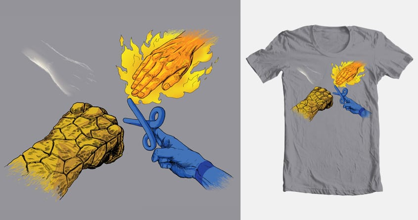 Fantastic roshambo by biernatt on Threadless