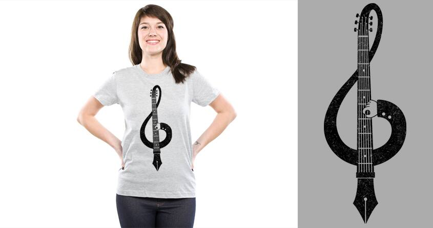 Songwriter v2 by Stereomode on Threadless