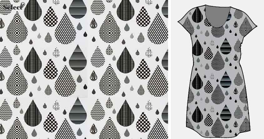 water drops by beatbeatwing on Threadless