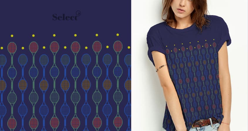 Racquets by halfgotten on Threadless