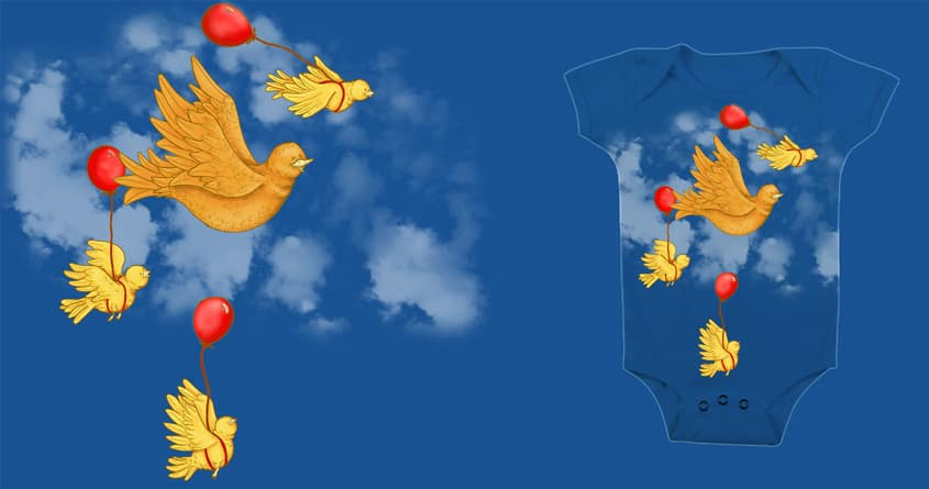 First Flying by camilaplate on Threadless