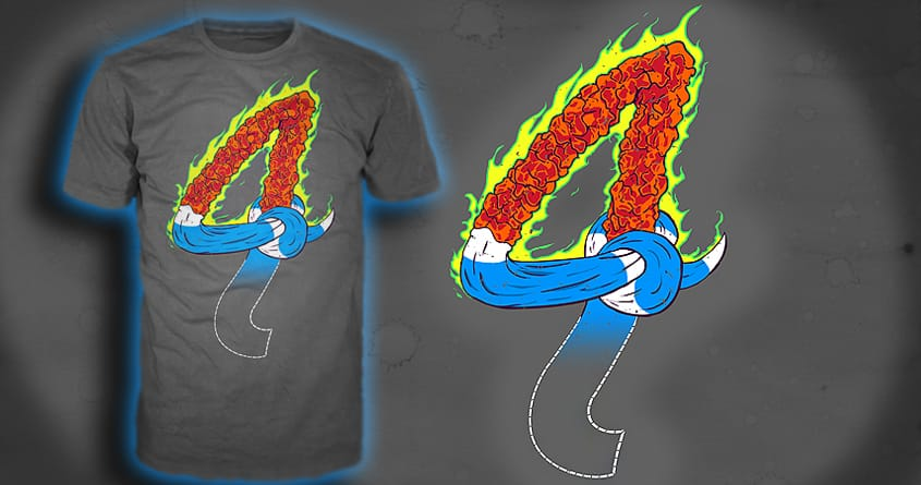 The FANTASTIC Four! by electric_method on Threadless