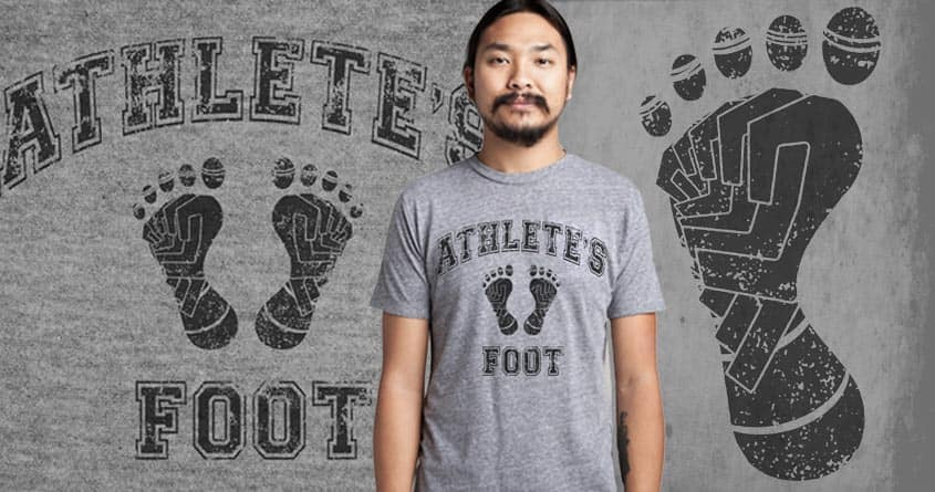 Athlete's Foot by ArTrOcItY on Threadless