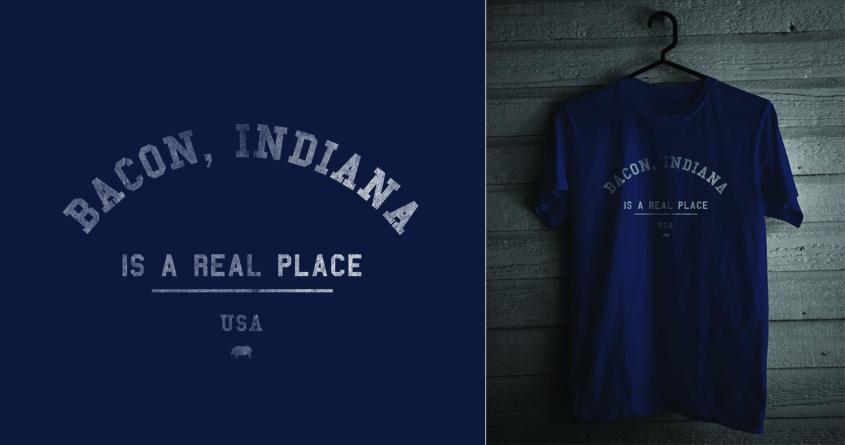 Bacon, Indiana by admrjcvch on Threadless