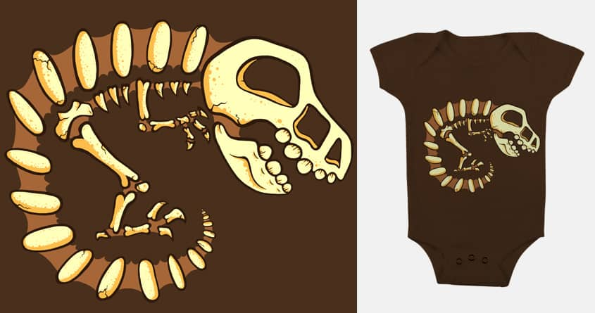 Dino Fossil by jellyswirl on Threadless