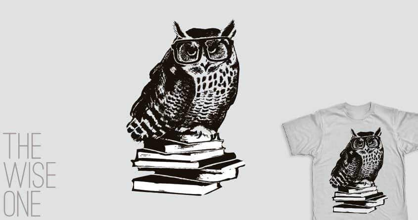 The wise one by radiomode on Threadless
