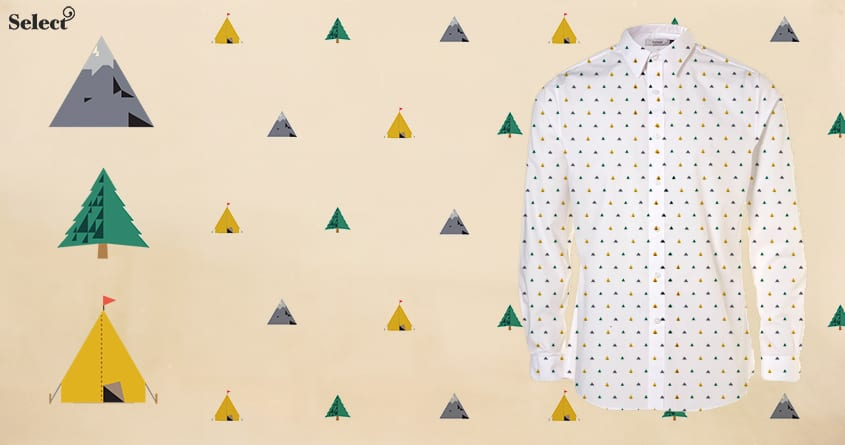 The Triangles of Fall by darel on Threadless