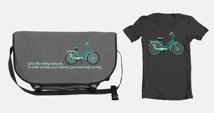 Keep Moving by kalanil123 on Threadless