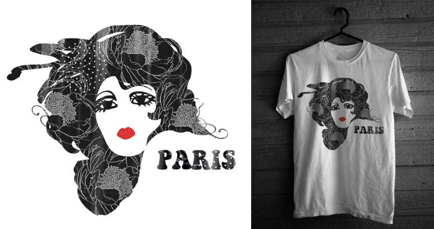 Paris by admrjcvch on Threadless