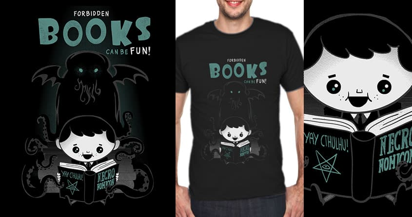 Forbidden books are fun! by queenmob on Threadless