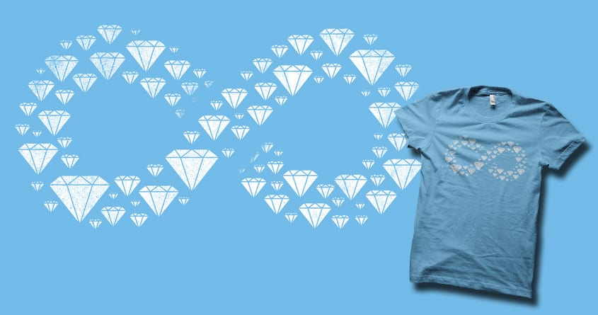Diamonds are forever by biotwist and FRICKINAWESOME on Threadless