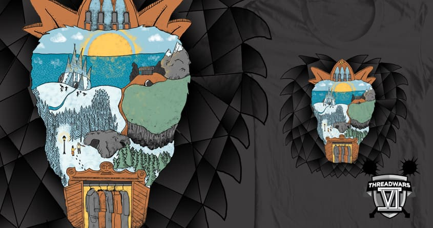 Cair Paravel by Steger on Threadless