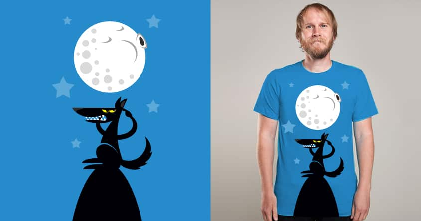 The Howling Moon by Joe Conde on Threadless