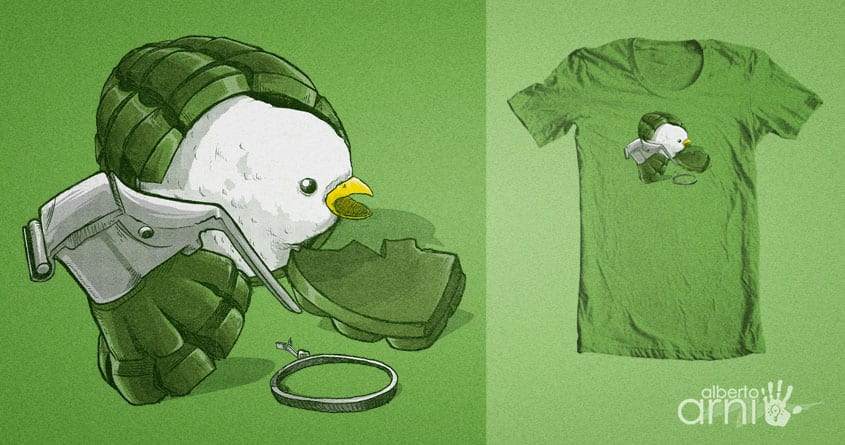 Peace by albertoarni on Threadless
