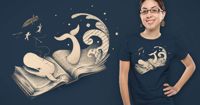 Moby Dick by buko on Threadless
