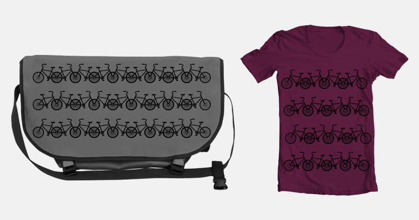 babes dig bikes by move it kelley on Threadless