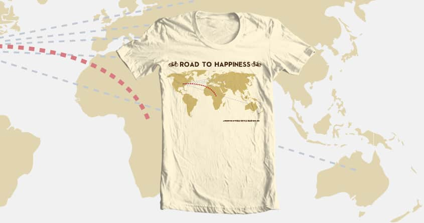Road to happiness by spadh on Threadless