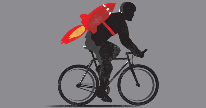 Rocket Bike by michael.hinde.39 on Threadless