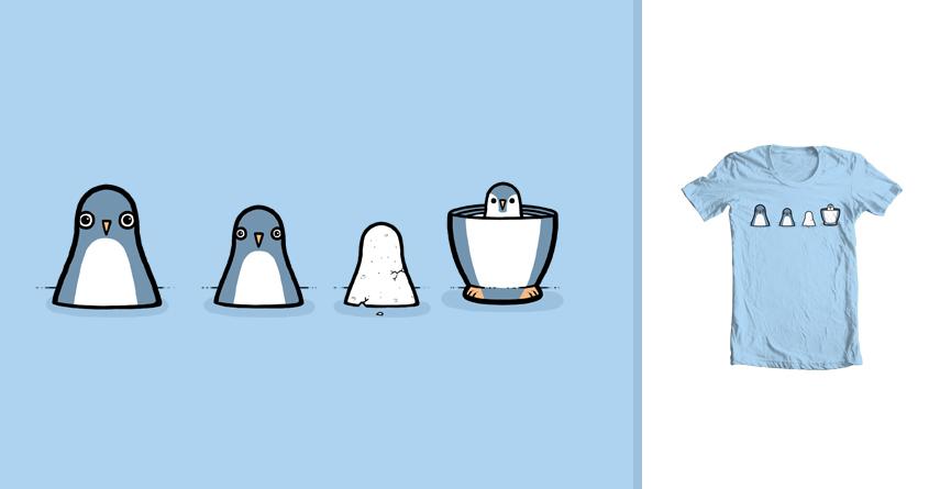 Penguin Babushka  by randyotter3000 on Threadless