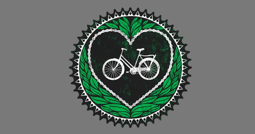 I Heart Bicycles by lifeform987 on Threadless