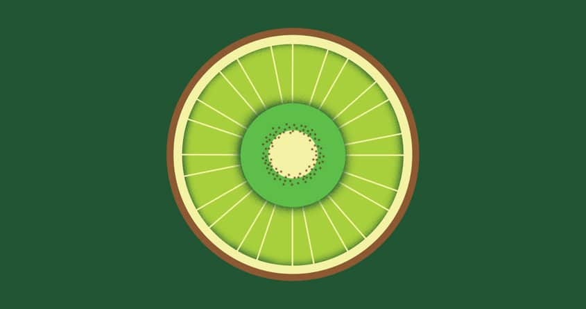 Kiwi wheel by bandy on Threadless
