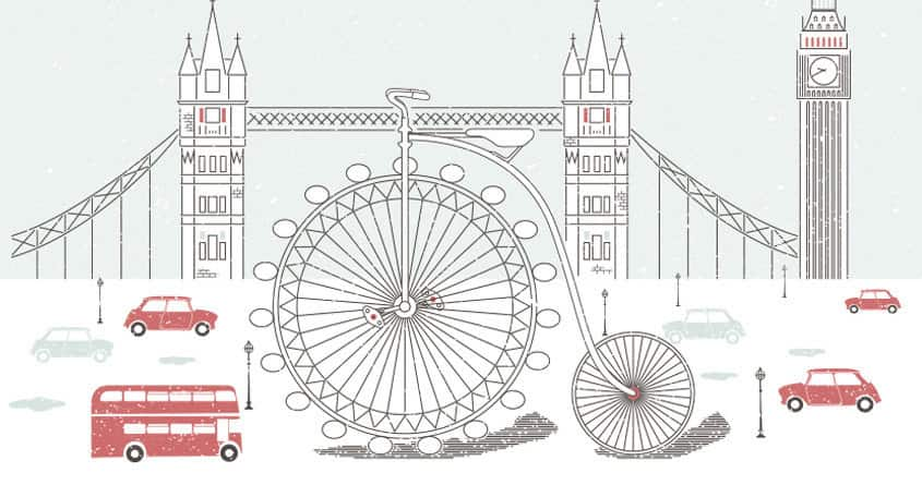 London Cycle by lucasboesche on Threadless