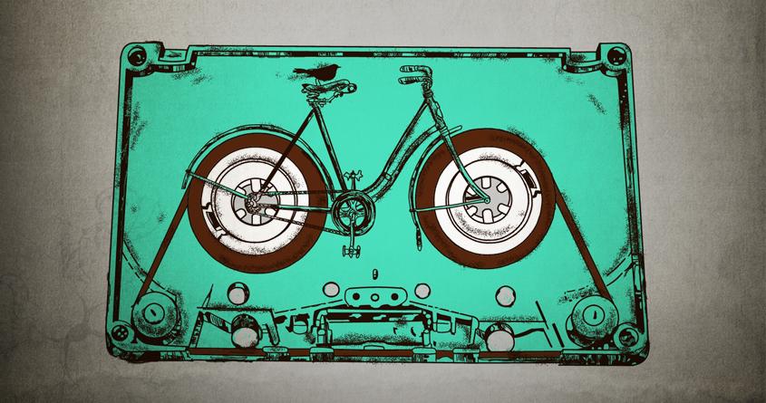 Bicyssette by kooky love on Threadless