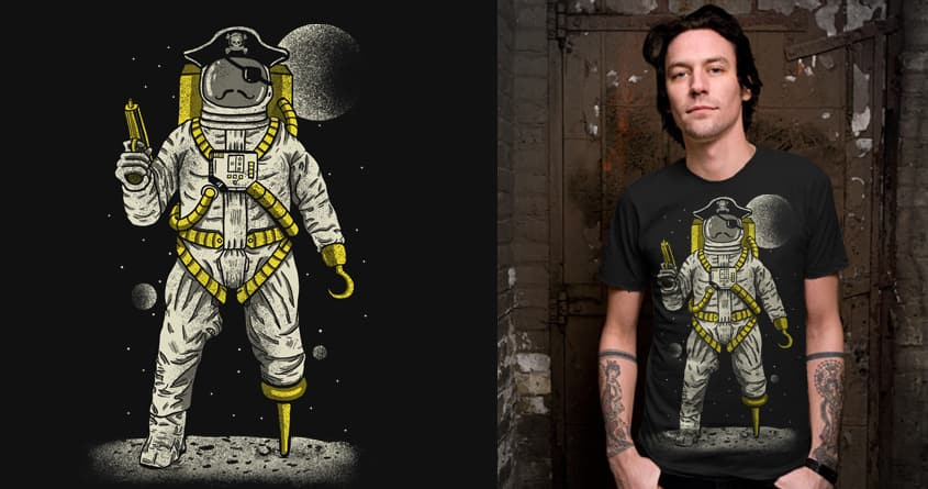 Astronaut Pirate by fathi on Threadless