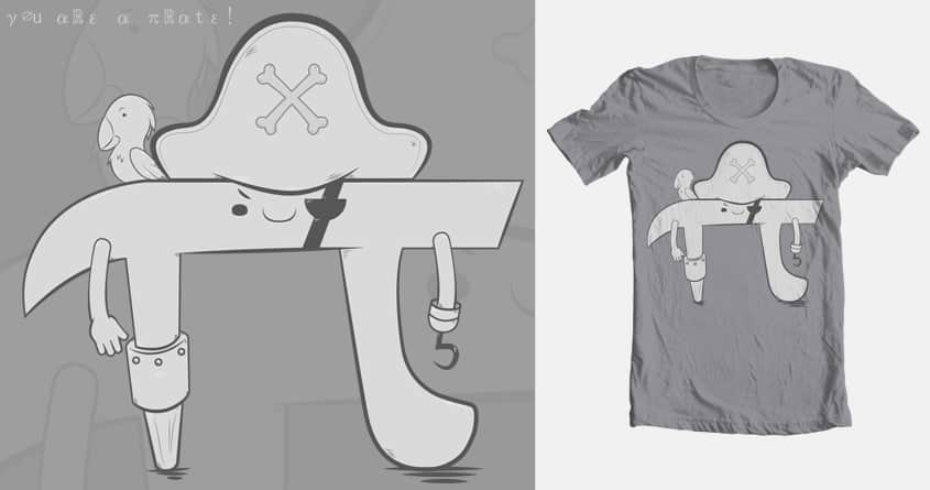 PIrate by jinshio on Threadless