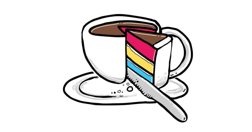 Slice of CUP'cake by anwarrafiee on Threadless