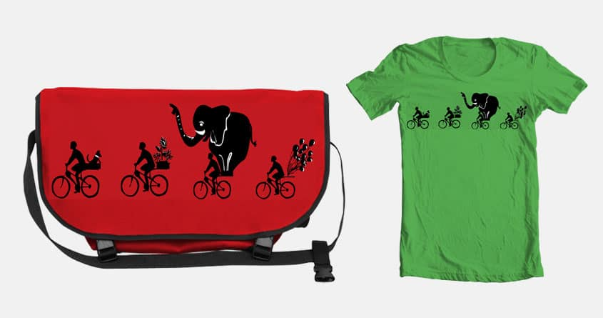 What's on Your Bike? by bleachrocks on Threadless
