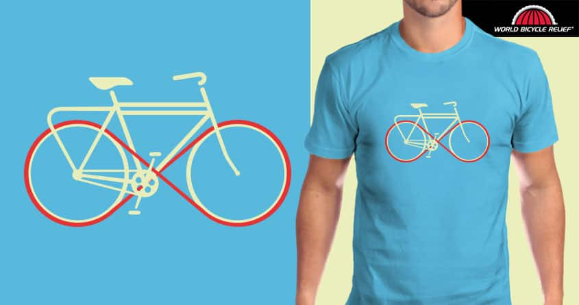 infinite cycle by rodrigomuller on Threadless