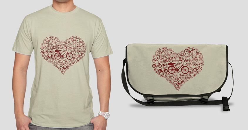 Bike Love by azrhon on Threadless