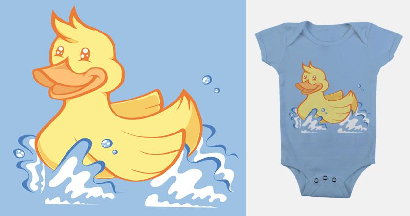 Rubber Ducky by jellyswirl on Threadless