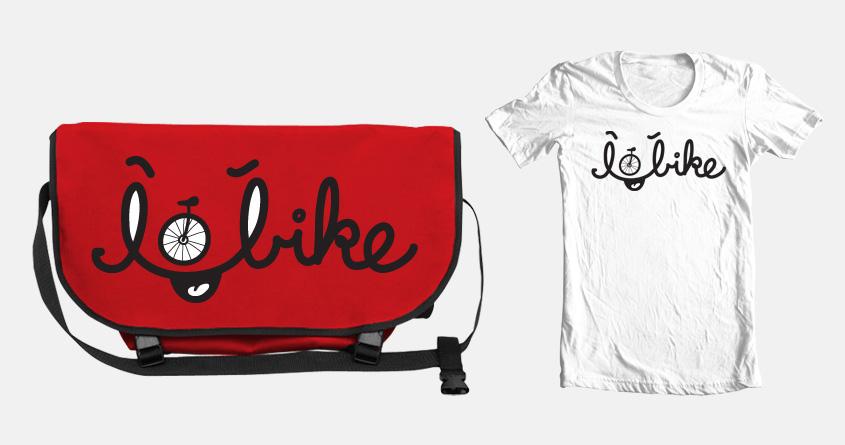 Yeah, I bike by Iconwalk on Threadless