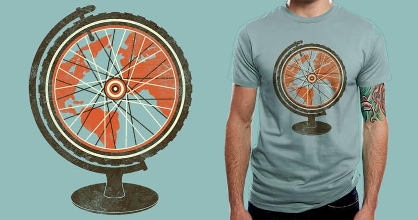 A Global Adventure by digsy on Threadless