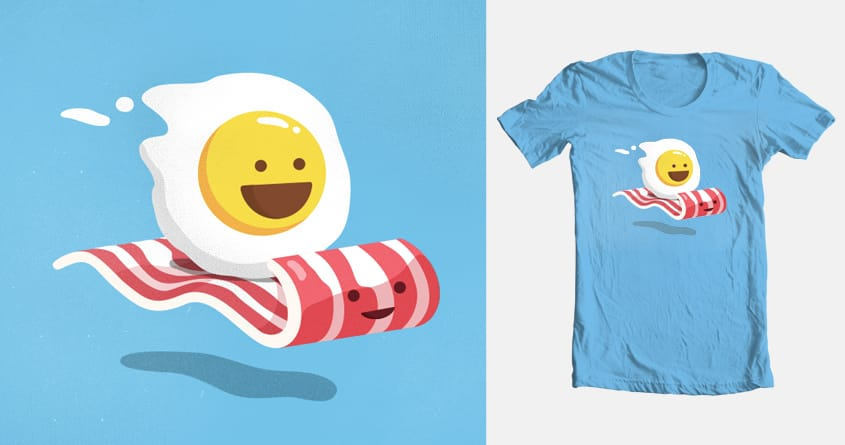 Magic Bacon Ride by george otsubo on Threadless