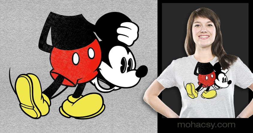 Mickey Me by Andreas Mohacsy on Threadless