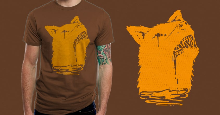 Zombie dog by barmalisiRTB on Threadless