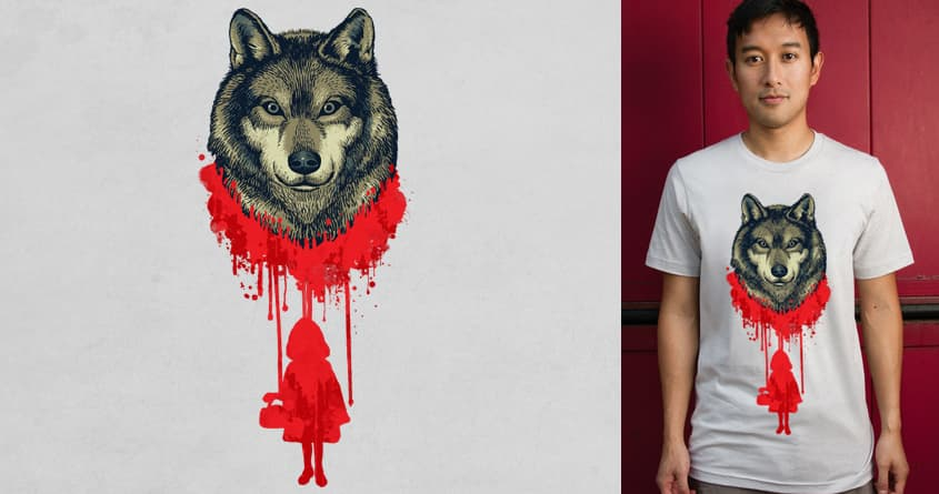 Wolf Blood by ben chen on Threadless